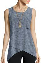 Alyx Malone Sleeveless Assymmetrical Knit Top