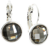 Nine West Faceted Stone Drop Earrings