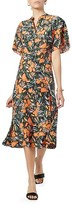 Thumbnail for your product : Joie Joan Floral Silk Midi Dress