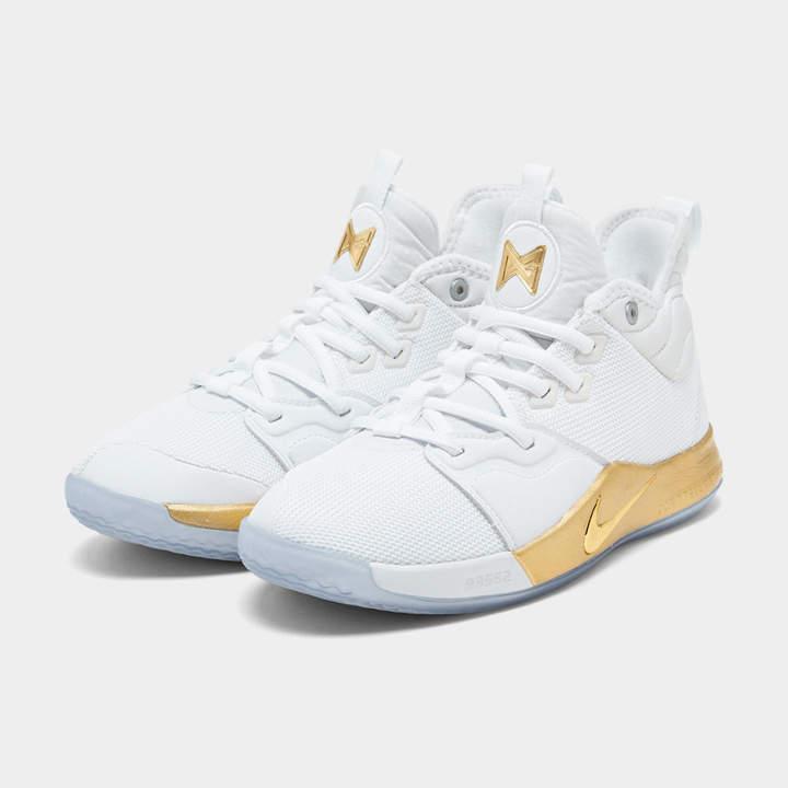 factory price 28807 67256 Boys' Big Kids' PG 3 x NASA Basketball Shoes