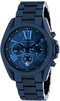 Michael Kors Bradshaw MK6248 Women's Navy Blue Stainless Steel Chronograph Watch