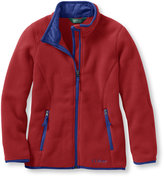 L.L. Bean Girls Trail Model Fleece Jacket