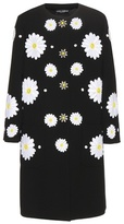 Dolce & Gabbana Embellished Wool Coat