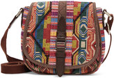 Toms multi pattern mix departure crossbody bag