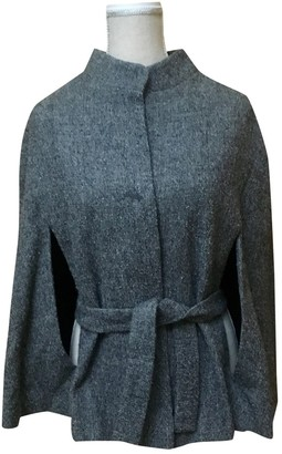 Masscob Anthracite Wool Jacket for Women