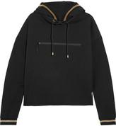 P.E Nation Blind Pass Cotton-jersey Hooded Sweatshirt