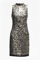 French Connection Moon Rock Sequin Tunic Dress