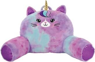 Iscream Caticorn Faux Fur Lounge Pillow