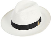 Christys' Bleached Panama Hat, Natural