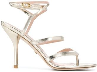 Stuart Weitzman Strappy Thong Strap Sandals