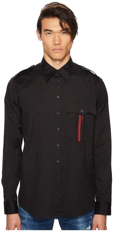 DSQUARED2 Millitary Shirt Men's Clothing