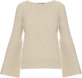 The Row Atilia long-sleeved ribbed-knit sweater