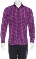 Etro Textured Houndstooth Shirt