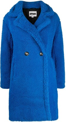 Apparis Anouck faux-sherling coat