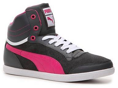 Puma Glyde Court High-Top Sneaker - Womens