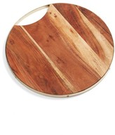 Nordstrom Round Wood Cutting Board
