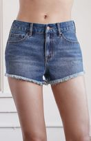 Bullhead Denim Co. Drew Blue High Rise Cutoff Denim Shorts