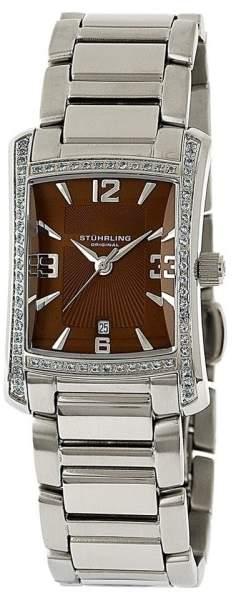Stuhrling Original Gatsby High Society II 145TS.121159 Stainless Steel 23mm x 29mm Watch