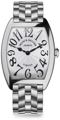 Franck Muller Cintree Curvex Stainless Steel Bracelet Watch