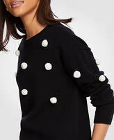Ann Taylor Pom Pom Sweater
