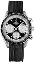 Omega Speedmaster Racing men's black strap watch