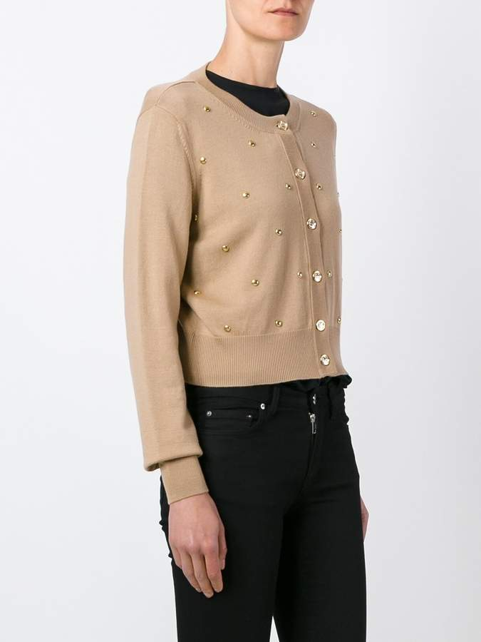 Love Moschino studded cardigan
