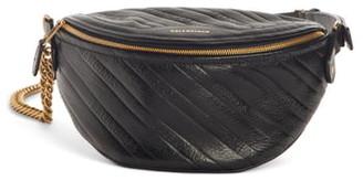 Balenciaga Extra Small Souvenir Logo Leather Belt Bag