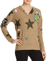 Chaser Patch Star-Print Hooded Sweatshirt