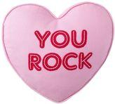 Sweet Heart Pillow, You Rock, 14 X 14