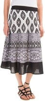 Studio West Print Circle Skirt (For Women)