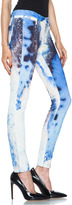 Paige Verdugo Ultra Skinny in Blue Gemstone