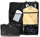 G. Pacific Ballistic Nylon Tri-Fold Carry On Garmet Bag - Black