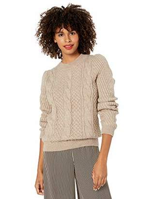 Cable Stitch Women's Mixed Cable Knit Sweater