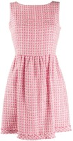 Tweed Flared Dress