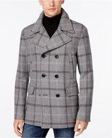 Michael Kors Men's Plaid Pea Coat