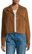 Vince Jean Suede Moto Jacket