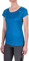 Mizuno Body Map T-Shirt - Short Sleeve (For Women)