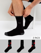 Pringle Waverley Socks in 3 Pack