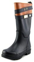 Tommy Hilfiger Marcie Youth Round Toe Synthetic Black Rain Boot.