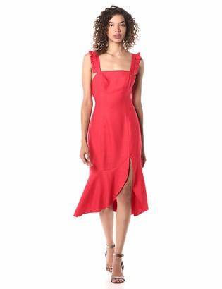 Finders Keepers findersKEEPERS Women's Aranciata Sleeveless Midi Sheath Dress