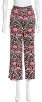 Louis Vuitton Floral High-Rise Pants