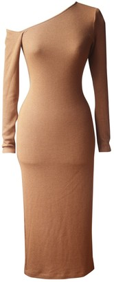 Enza Costa Brown Polyester Dresses