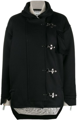 Off-White Toggle Oversized Jacket