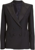BLAZÉ MILANO Charmer Fitted Double-Breasted Blazer