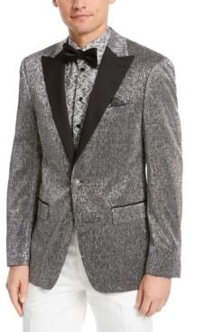 Tallia Men's Slim-Fit Silver Dinner Jacket