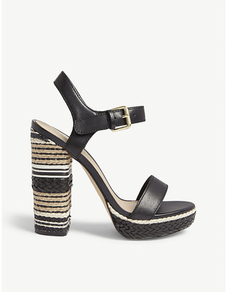 Aldo Huglag leather platform sandal