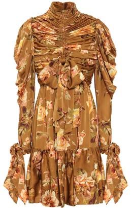 Zimmermann Resistance floral silk-satin dress