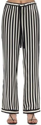 Morgan Lane Chantal Silk Charmeuse Pajama Pants