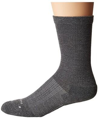 Feetures Texture Cushion Crew Sock