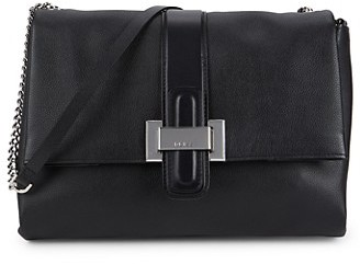 Reiss Maya Leather Shoulder Bag